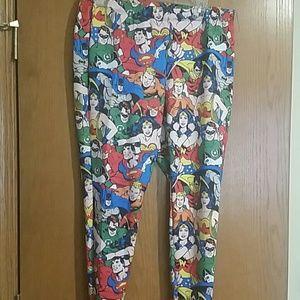 Torrid DC Comics Justice league leggings size 0